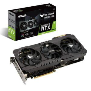 PLACA GRÁFICA ASUS GeForce RTX3080 TUF GAMING OC V2 10GB GDDR6 LHR