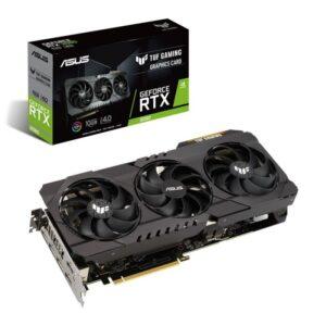 PLACA GRÁFICA ASUS GeForce RTX3080 TUF GAMING OC 10GB GDDR6