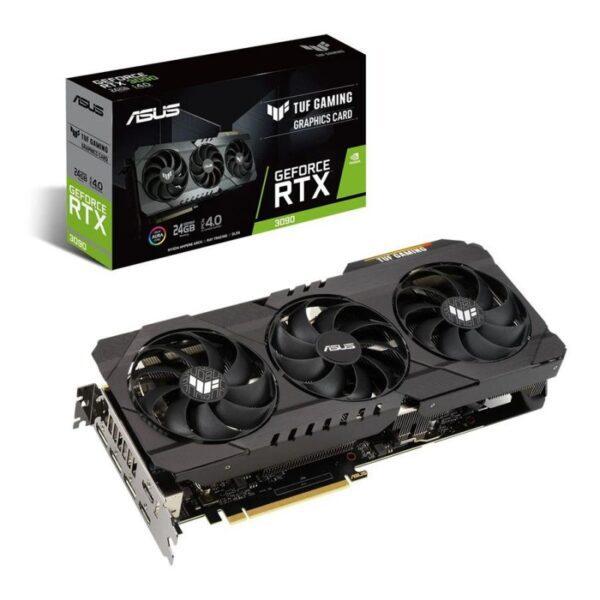 PLACA GRÁFICA ASUS GeForce RTX3090 TUF GAMING 24GB GDDR6