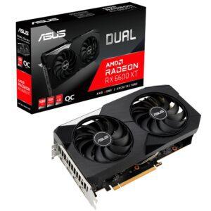 Placa Gráfica ASUS RADEON RX 6600 XT DUAL 8GB OC DDR6 PCI-E 4.0