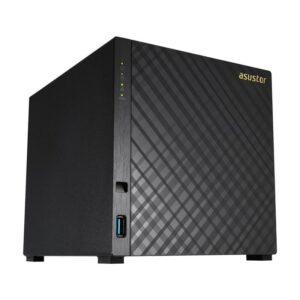 NAS ASUSTOR 4 baías P/ HDD 3.5 - AS3204T