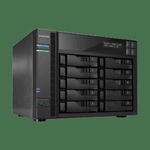 NAS ASUSTOR 10 baías P/ HDD 3.5 - AS6210T