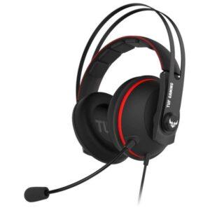 Headset ASUS TUF Gaming H7 Core Vermelho