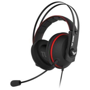 Headset ASUS TUF Gaming H7 Vermelho