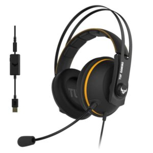 Headset ASUS TUF Gaming H7 Amarelo