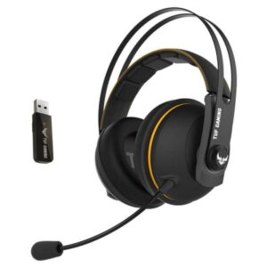 Headset ASUS TUF Gaming H7 Wireless Amarelo