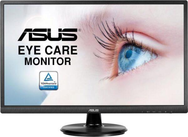 "Monitor ASUS VA249HE 24"" LED VA FullHD Wide Preto"