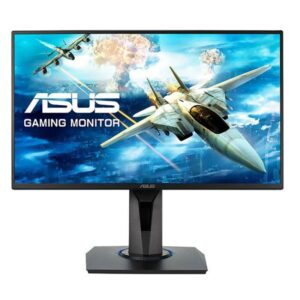 """MONITOR ASUS VG255H 24.5"""" LED TN 1ms FullHD Wide Preto"""