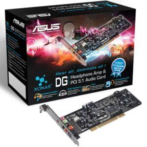 PLACA DE SOM ASUS Xonar DG Audio Card 5.1 PCI