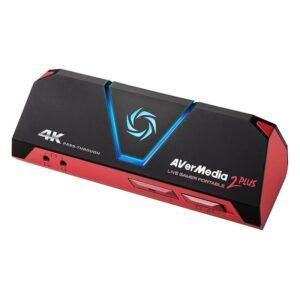 Placa de Captura AVERMEDIA Live Gamer Portable 2 Plus 4K