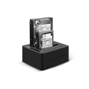 """DOCKING STATION BLUERAY Duo With Clone 2.5""""/3.5"""" USB 3.1"""