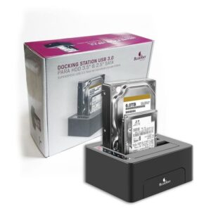 """Docking Station BLUERAY Duo With Clone 2.5""""/3.5"""" USB 3.0"""