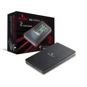 SSD Externo BLUERAY 240GB X7 USB 3.1 - X7-240