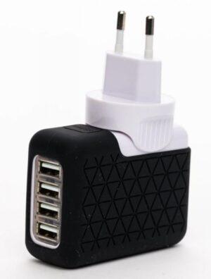 Carregador Parede BLUESTORK 4x USB 3100mAh 5V