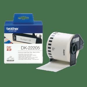 BROTHER Fita de papel contínuo (branca) 62mm - DK22205