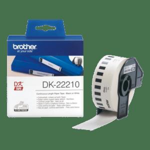 BROTHER Fita de papel contínuo (branca) 29mm - DK22210