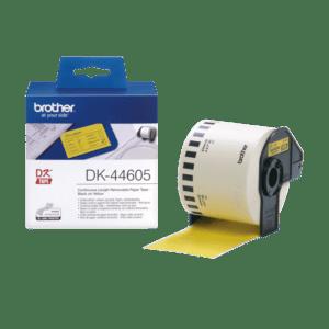 BROTHER Fita de papel contínuo (amarelo) 62mm - DK-44605