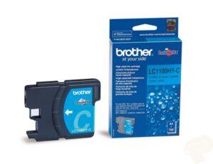 Tinteiro BROTHER LC1100HY-C Alta Capacidade Cyan