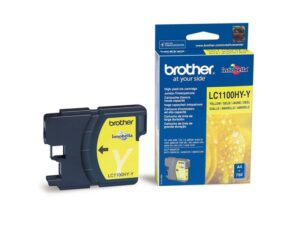 Tinteiro BROTHER LC1100HY-Y Alta Capacidade Amarelo