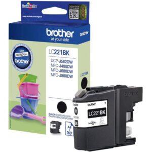 Tinteiro BROTHER LC221BK Preto