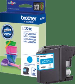 Tinteiro BROTHER LC221C Cyan