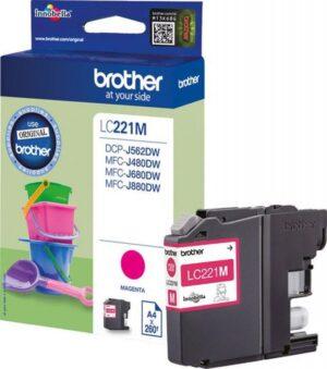 Tinteiro BROTHER LC221M Magenta