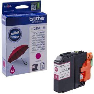 Tinteiro BROTHER LC225XLM Magenta