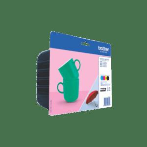Tinteiro BROTHER LC227XL Value Pack (Preto, Cyan, Magenta e