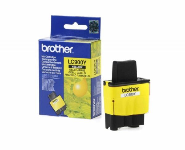 Tinteiro BROTHER LC900Y Amarelo