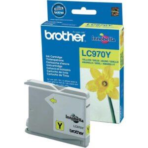Tinteiro BROTHER LC970Y Amarelo - LC970YBP