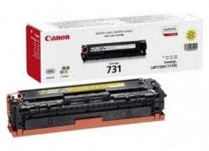 Toner CANON 731 Amarelo - 6269B002