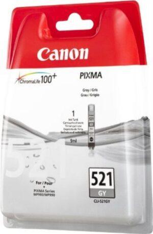 TINTEIRO CANON CLI-521GY Cinza - 2937B008