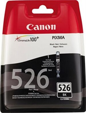 TINTEIRO CANON CLI-526BK Preto - 4540B006
