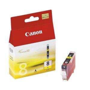 TINTEIRO CANON CLI-8Y Amarelo - 0623B026