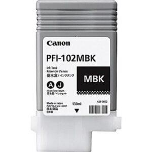 TINTEIRO CANON PFI-102MBK Preto Matte - 0894B001