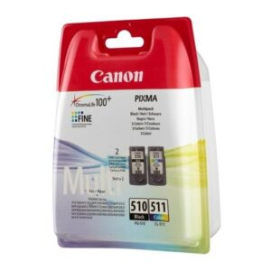 Tinteiro CANON PG-510 Preto/CL-511 Cores Multi Pack Sec - 29