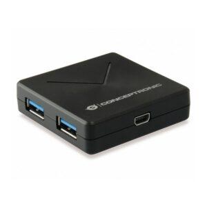 Hub CONCEPTRONIC Hubbies 4 Portas USB 3.0 - HUBBIES02B