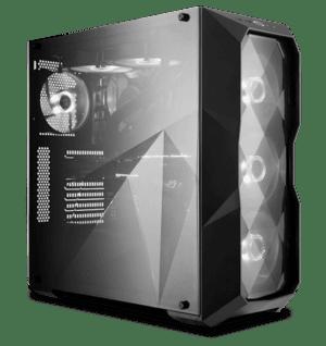 CAIXA COOLER MASTER MasterBox TD500L WINDOW PRETA