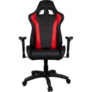 Cadeira Gaming COOLER MASTER Caliber R1 Black/Red