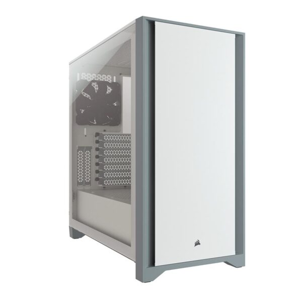 Caixa CORSAIR Extended-ATX 4000D Tempered Glass Branco