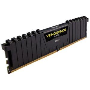 MEMÓRIA CORSAIR Vengeance LPX Black 16GB DDR4 3000MHz CL15