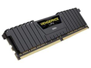 MEMÓRIA CORSAIR Vengeance LPX Black 8GB DDR4 2400MHz CL14