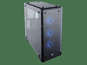 Caixa CORSAIR Crystal 570X RGB USB 3.0 Blue Led - CC-9011098