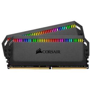 Memória CORSAIR Dominator Platinum RGB 32GB 2x16GB DDR4 3200