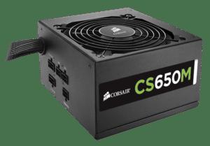 FONTE CORSAIR CS650M 650W CS Series (Modular) - CP-9020077-E