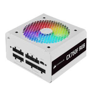 FONTE DE ALIMENTAÇÃO CORSAIR CX750F RGB Series 750W (Modular) White
