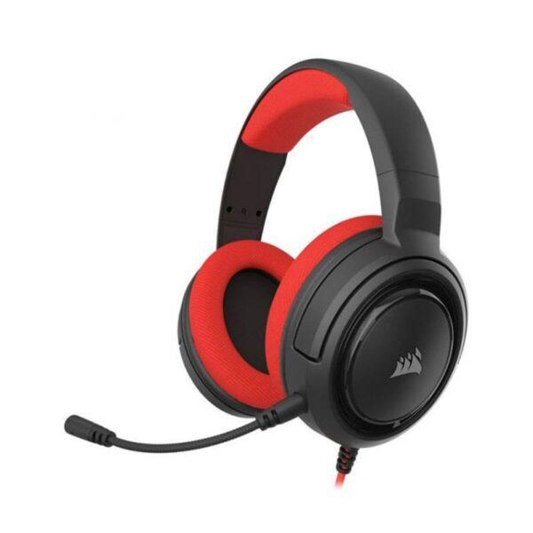 Headset CORSAIR HS35 Stereo Vermelho
