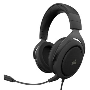 Headset CORSAIR HS50 PRO STEREO CARBON - CA-9011215-EU