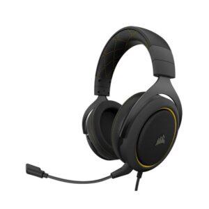 Headset CORSAIR HS60 PRO SURROUND 7.1 Amarelo