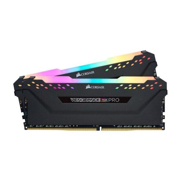 Memória CORSAIR Vengeance RGB PRO KIT 16GB 2X8GB DDR4 3600MHz CL18